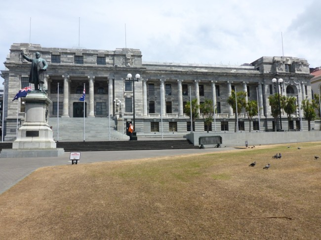 NZ's parliament building.