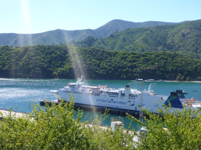Inter Islander Ferry.