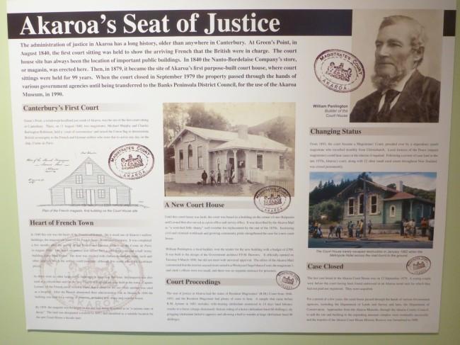 Akaroa history.