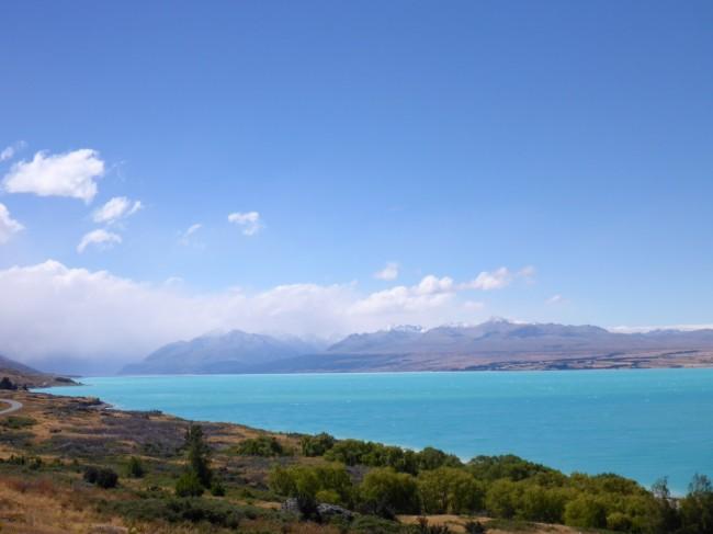 Mineral rich Lake Tekapo.
