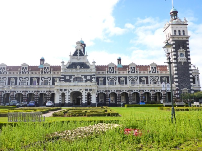 Dunedin Station. A classic design and very well preserved.