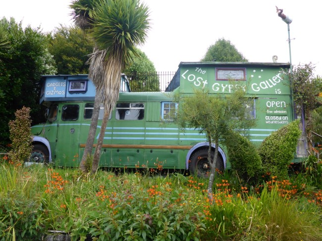 Lost Gypsy Theatre bus.