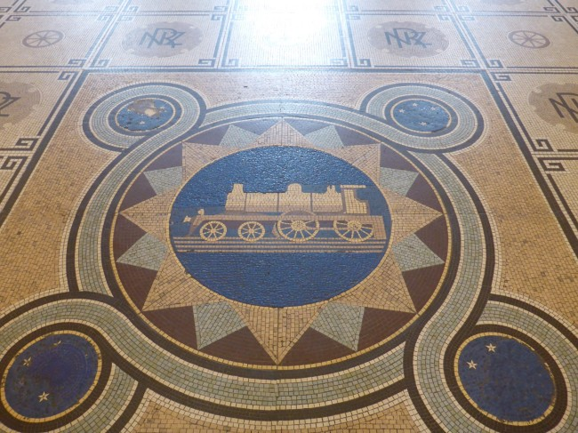 Very nice floor mosaic.