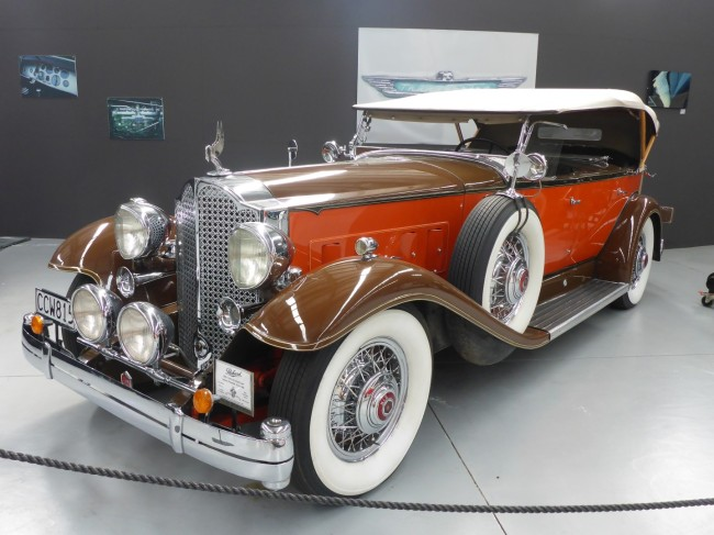 1932 Packard Sports Phaeton. One of the many stunning exhibits.