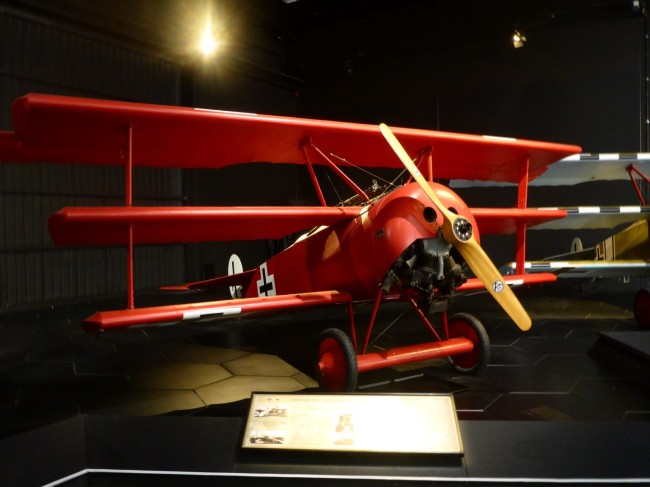 Fokke Triplane, as used by Baron Von Richtoven.