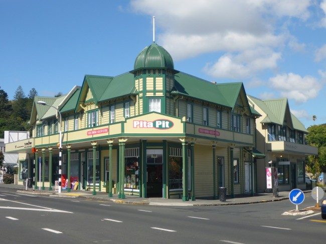 Century old shops.