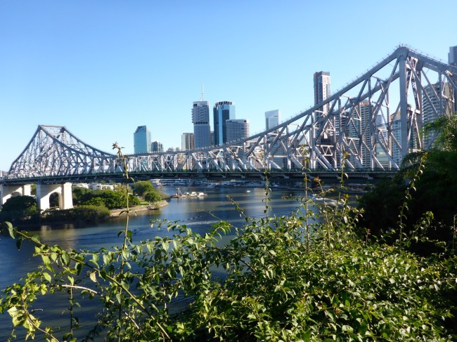 Story Bridge, opened in 1940.