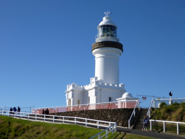 The lighthouse at Cape Byron, Australia's most easterly point.