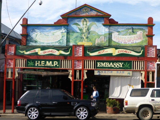 Nimbin's more colourful approach to life.