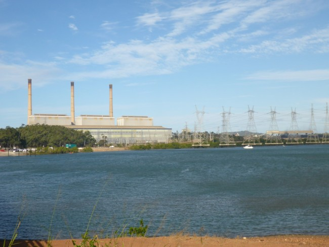 The coal fired power station where Jim works. One of Australia's biggest at 1800 megawatts output.