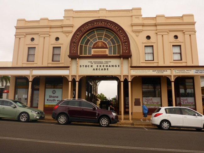 Charters Towers Stock Exchange building.