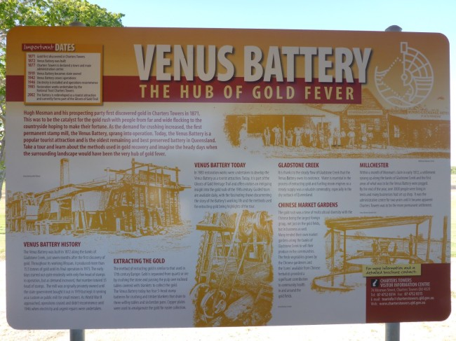 What the Venus Battery was all about.