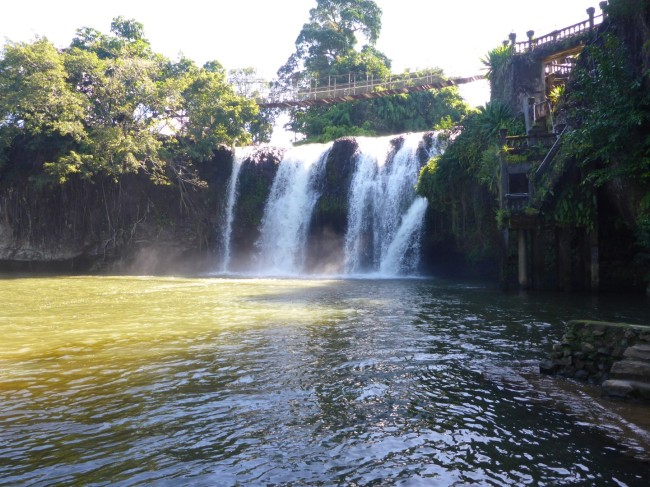 The Meena Falls by day.