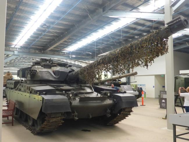 Big, British battle tank, the Chiefton.