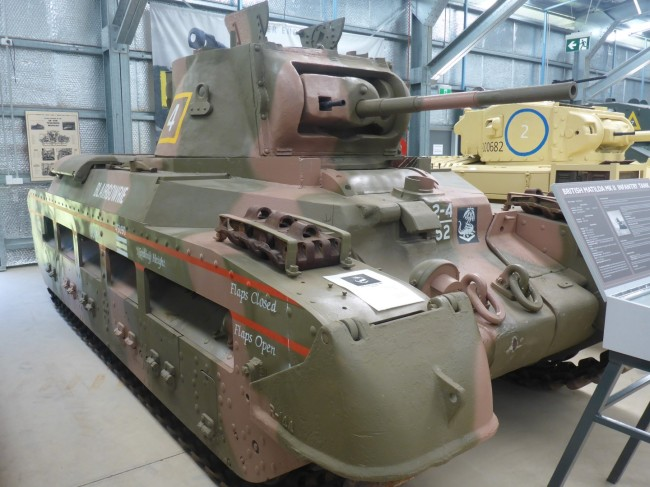 Is it possible for a tank to be described as 'pretty'?