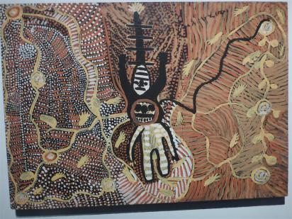 Modern Aboriginal art.