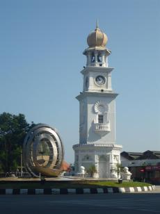 Victoria Jubilee clock tower.