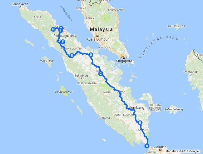 Sumatra Route