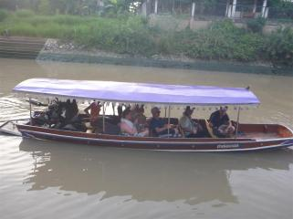 The perfect mode of transport for these quiet and calm canals.