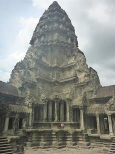 One of Angkor Wat's towers.