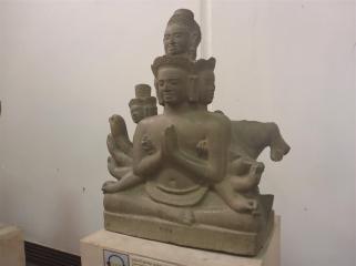Hindu style statue.