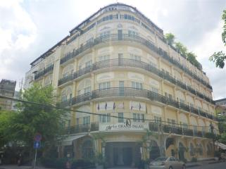 A French Colonial hotel.