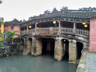 Very rare Japanese Bridge. Hoi An.