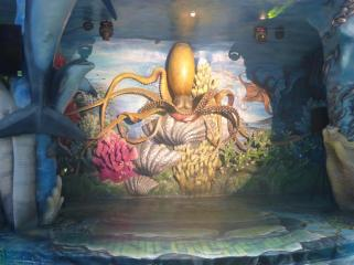 Octopus cave.