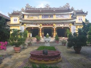 Chinese temple, Hoi An.