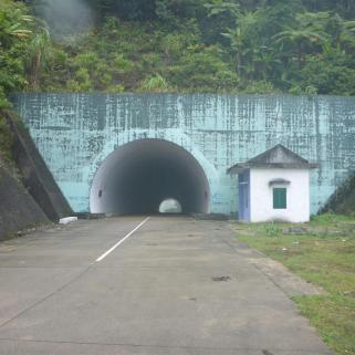 Spooky tunnels.
