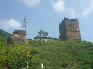 The Old French fort at the top of the Hai Van pass.
